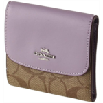 O895133 COACH Signature PVC Small Wallet