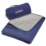 O772057 URPRO Waterproof Warm Fleece Outdoor Blanket Extra Large Lightweight Portable with Carry Bag for Stadium, Picnic, Camping, Beach, Dogs, Sofa