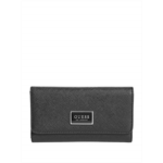 L371918 GUESS Factory Abree Logo Saffiano Slim Wallet