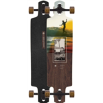 O583471 Arbor Longboards Complete Longboard Dropcruiser Photo Walnut Beal 9.75