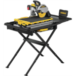 Z887540 DEWALT Wet Tile Saw with Stand, High Capacity, 10-Inch (D36000S)