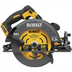Y265045 [관부세포] DEWALT FLEXVOLT 60V MAX Circular Saw with Brake, 7-1/4-Inch, Tool Only (DCS578B)