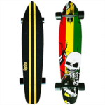 I496757 DINBIN 42 Inch Drop Through 8 Ply Maple Complete Longboards Skateboard,Cruising,Freeride Slide,Freestyle and Downhill Freestyle Cruiser for Teens or Adults