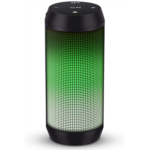 S970698 ELEHOT Bluetooth Speaker Portable Wireless with Lights, Stereo Loud Volume, TWS Dual Pairing Speaker with Subwoofer Outdoor 1 PC