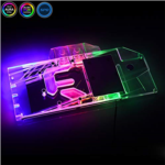 R360184 Bykski GPU Copper RBW LED Water Cooling Block for Gigabyte Asus MSI Sapphire Dataland Maxsun Yestion XFX RX 5700 XT 5700 (for Gigabyte RX 5700XT Gaming OC 8G)