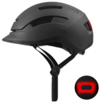 L764395 YUFU Adult Bike Helmet Cycling Bicycle Helmet Rechargeable Safety Taillight Urban Commuter CPSC Certified Adjustable Size for Adult Men/Women