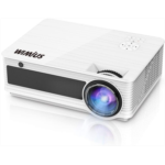 Q108513 Projector, WiMiUS 6500 Lumens LED Projector 1080p HD Indoor and Outdoor Projector Support 200