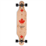 Q458039 Longboard Skateboard, 41-Inch Downhill Skateboard Through Deck 8-Layer Maple, Complete Skateboard Cruiser