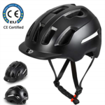 X376944 Cycling Helmet,Adult Bike Helmet, CPSC Certified, Safety Protection, Breathable & Lightweight, Replacement Pads & Detachable Visor Adjustable Size (22.8 in-24.4 in), for Adult Male/Female Comm