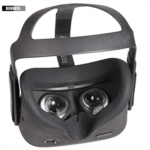 H454001 Devansi VR Eye Silicone Cover with Breathable Lines for Oculus Quest Sweatproof Lightproof Anti Light Leakage