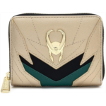 L920702 Loungefly Marvel Loki Classic Zip Around Wallet