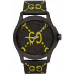 Black & Yellow G-Timeless GucciGhost Watch
