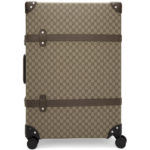 Beige Globe-Trotter Edition Large GG Suitcase
