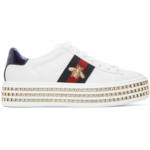 White Crystal New Ace Sneakers