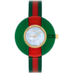 Red & Green Vintage Web Watch