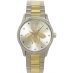 Silver & Gold G-Timeless Bee Watch