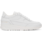 White Track Classic Sneakers