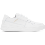 White Steffey Lace-Up Sneakers
