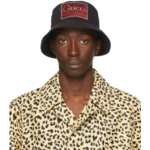 Black 'Whatever The Season' Bucket Hat