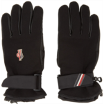 Black Leather Palm Gloves