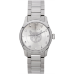Silver G-Timeless Feline Watch