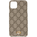 Beige Ophidia GG iPhone 11 Max Case