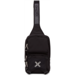 Black Single Shoulder Backpack