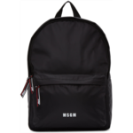 Black Logo Backpack
