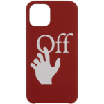 Red Hands Off iPhone 11 Pro Case