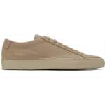 Taupe Leather Achilles Low Sneakers