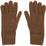 Brown Cashmere Lined Gloves