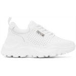 White Speed Track Sneakers